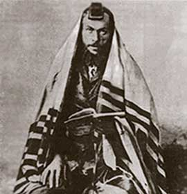 A Jew in tales. Photo of the beginning of 20th century