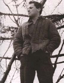 I. Brodsky in the deportation in Norinskaya-village. Photo